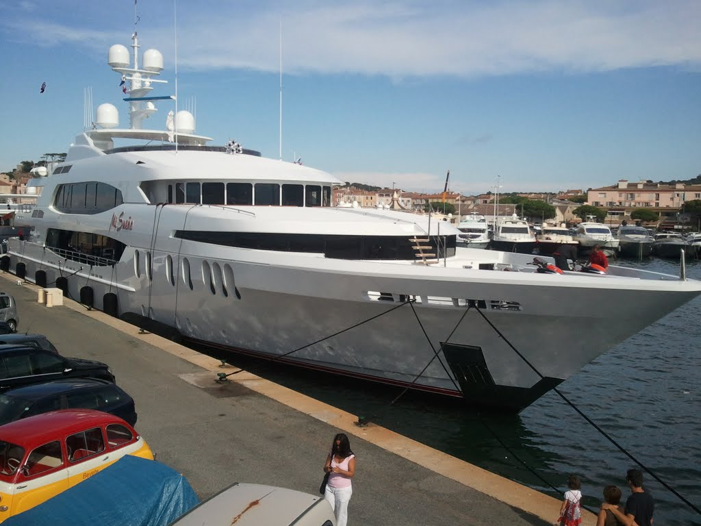 yacht st tropez