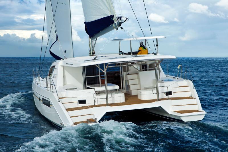leopard-48 catamaran